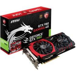 Grafikkort MSI Nvidia? GeForce™ GTX980 Gaming Overclocked 4 GB GDDR5