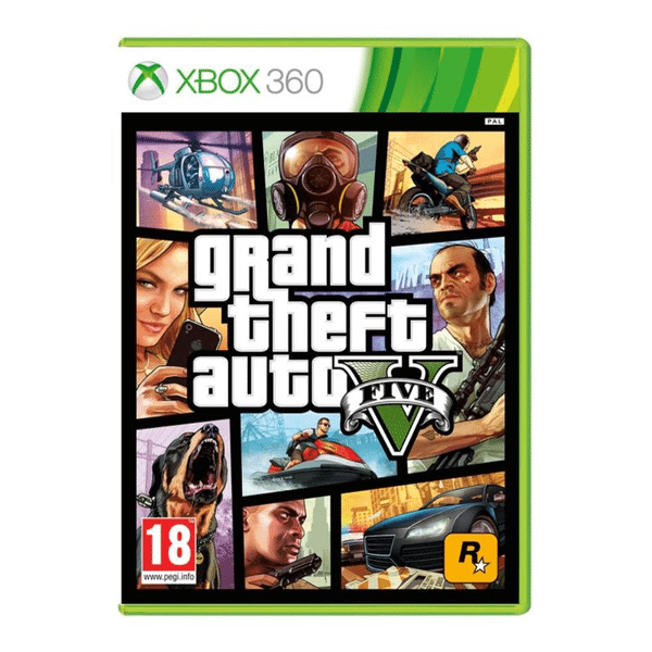 Grand Theft Auto V till Xbox360