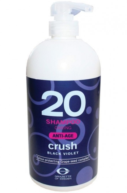 Grazette Crush Black Violet 20 Shampoo Anti-age 1000ml (utgående)