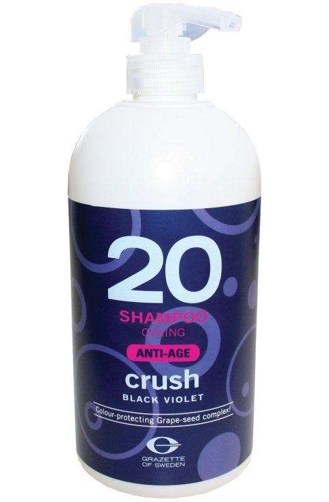 Grazette Crush Black Violet 20 Shampoo Anti-age 1000ml (utgående)