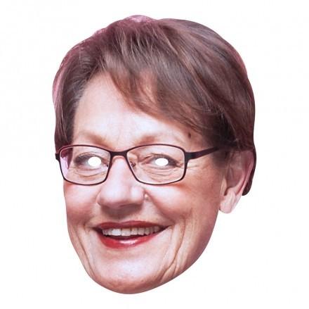 Gudrun Schyman Pappmask