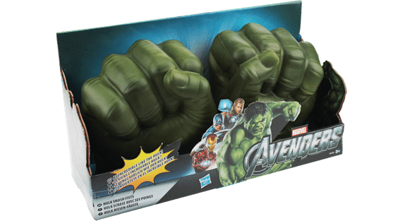 Hulken-händer, The Avengers
