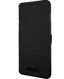 Kenzo Crocodile Folio (iPhone 6) - Svart