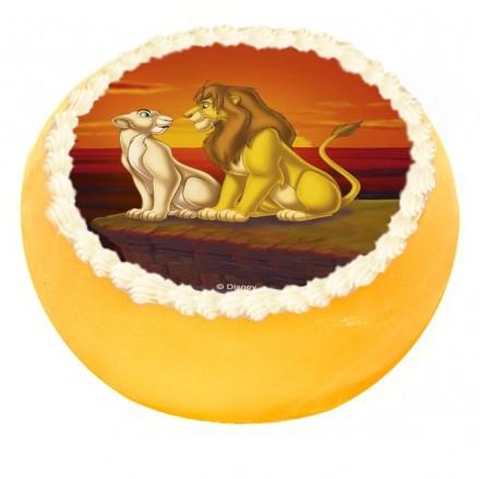 Lejonkungen tårta Lejonkungen tårta