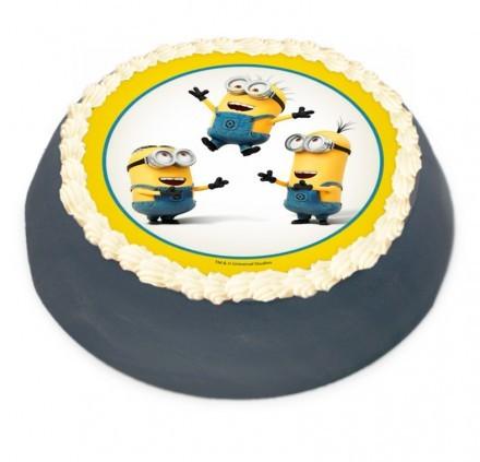Minion tårta Minion tårta