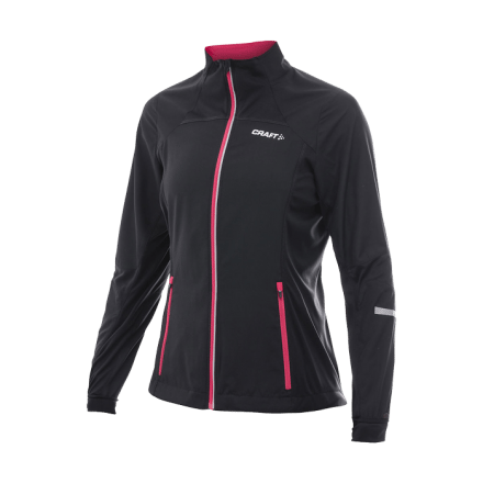 PXC Storm Jacket, black/hibiscus, L