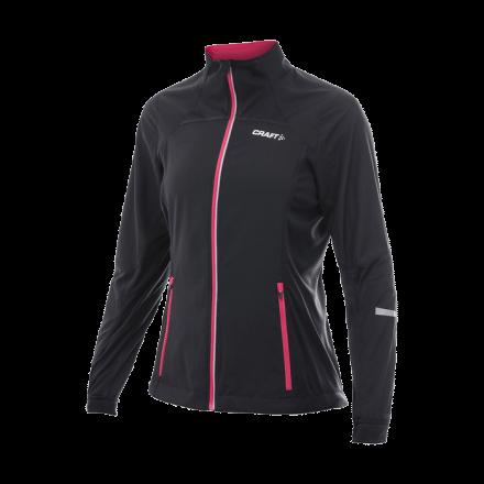 PXC Storm Jacket, black/hibiscus, XS