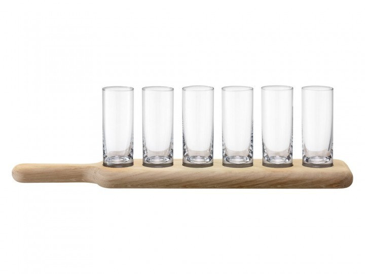 Shotglas LSA Paddle Clear 6 st