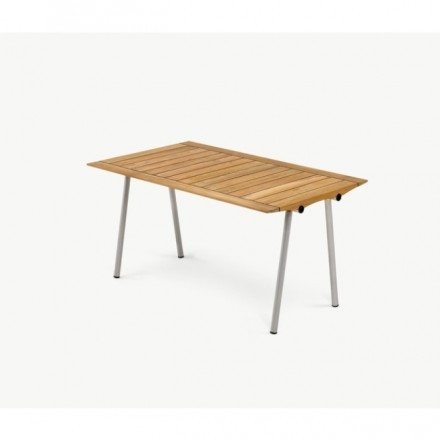 Skagerak Ocean Table 142, W / Rubberjoint, Teak