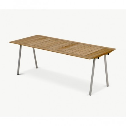 Skagerak Ocean Table 201, W / Rubberjoint, Teak
