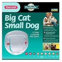 Staywell Kattlucka stora katter Transparant