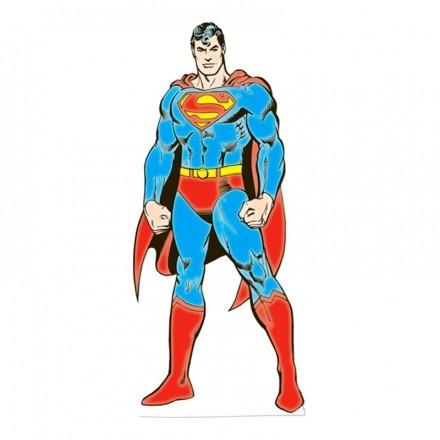 Superman Kartongvägg