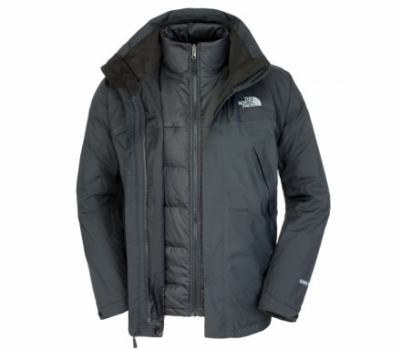 The North Face - Mountain Light Triclimate Herren Doppeljacke (schwarz) - S