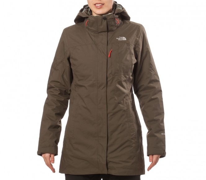The North Face – Thermoball Triclimate Damen Doppeljacke (grün) – L