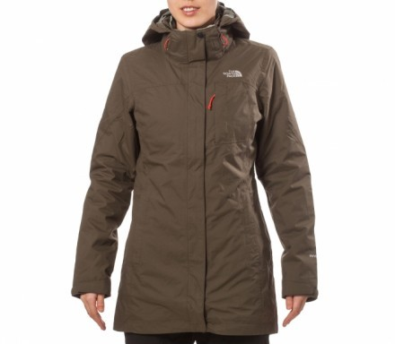 The North Face - Thermoball Triclimate Damen Doppeljacke (grün) - XS