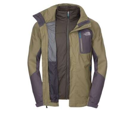 The North Face - Zenith Triclimate Herren Doppeljacke (grau) - L