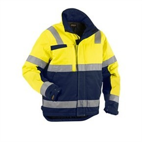 Varseljacka Blåkläder 4862 Gul/Blå