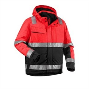 Varseljacka Blåkläder 4870 Röd/Svart