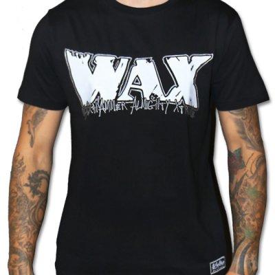 WAX logo t-shirt svart (S)