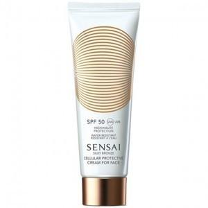 Sensai Silky Bronze Protective Cream For Face SPF50